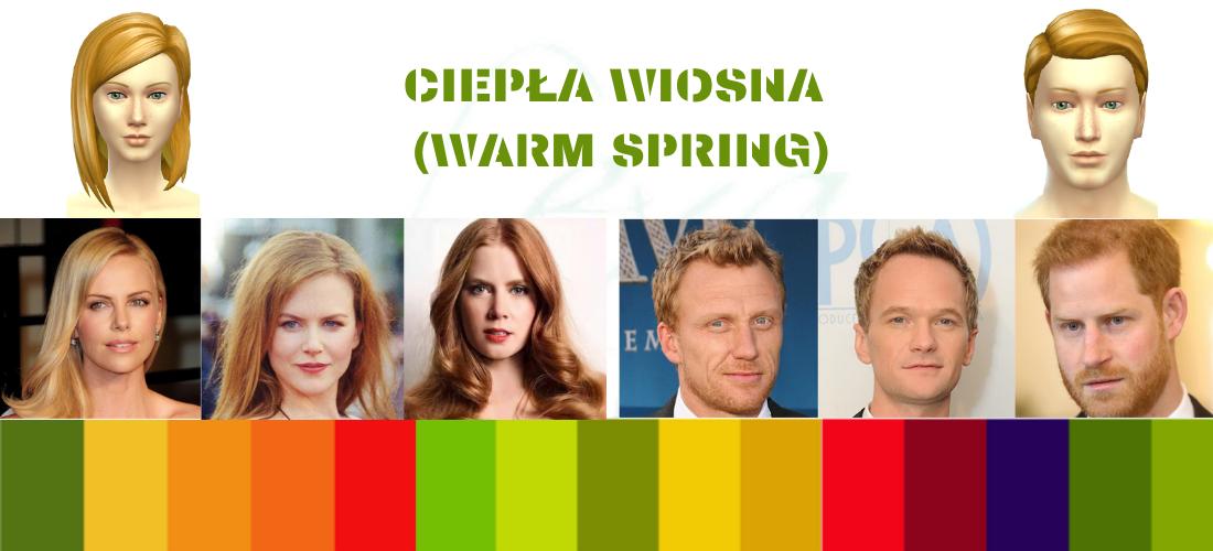 znane osoby w typie ciepłej wiosny